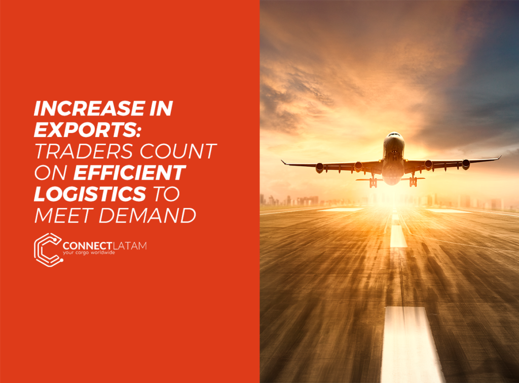With the rise in exports, logistical operations have been increasingly required